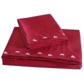 Wygodny Pure Color z Specjalne Ozdoby Lotosowy Zestaw Biustonosz Twin Set Facial & Skincare 100% Polyester Pościel Główna Pościel Płyta Płytowa Fitted Sheet Poduszka
