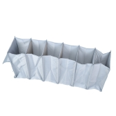 6-Tier Hanging Closet 6 Layer Foldable Storage Bag Multifunctional Hanging Shelf for Clothes Accessory