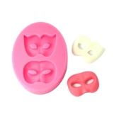 Sama MJ-SM-213 Forma silikonowa Cake Cupcake Dekoracja Piękna Fondant Czekoladowa Forma Pieczenia Forma Maska Pattern Mat