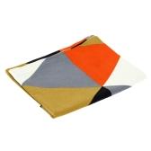 Модный Геометрический Треугольник Хлопковая Скатерть Противоскользящий Дизайн Плетения для Блюд и Чаш Изоляционный Водонепроницаемый Подстилка под Стол
