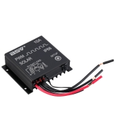 10A 12V24V Contrôleur de Charge Solaire Régulateur Automatique pour la Protection contre Surcharge de la Batterie de Panneau Solaire Compensation de Température