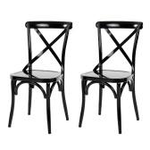 Cuisine industrielle de style industriel en métal de seconde main dinant la conception ergonomique de chaise de déjeuner