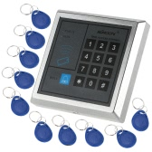 RFID Proximity Entry Door Lock Access Control System + 10 Key Fobs