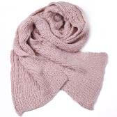 Cachecol xale de envoltório de malha de lã