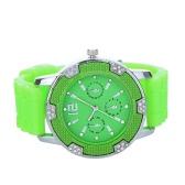 Stilvolle Quarz-Armbanduhr