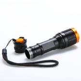 Lixada 2000lm Lampe de poche LED 5-Mode T6