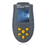 Compte-tours laser numérique LCD RPM Test de petits moteurs Engine Indicateur de vitesse sans contact gris