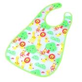 Bosque lindo bebé babero infantil Saliva toalla impermeable Unisex con bolsa
