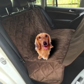 Non-slip Pet Car Back Seat Cover Water-proof Dog Safety Hammock Protector Mat for Trunk SUV Pet Supply