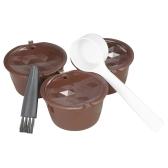 3pcs / set café capsule Dolce Gusto café filtre réutilisable Dolce Gusto café capsule avec cuillère et brosse
