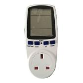 Digital Wattmeter Watt Monitor Stromverbrauch Messung Socket Analyzer Stromverbrauch Monitor Power Meter Energy Meter mit Steckdose für Messung Spannung Strom Strom
