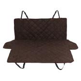 Роскошный водостойкой противоскользительная Pet Backseat Магистральные крышки кота собаки щенка безопасности заднего сиденья протектор Ватные Мат для легковых автомобилей SUV
