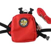 Mochila de mascotas para perros Mini Mochilas para perros Viajes al aire libre Puppy Saddle Bag Mochila para mochilas con correa de plomo para perros pequeños y medianos