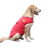 Pet Dog Vest Jacket Coat Reversible Invierno Cold Weather Warm Dog Apparel Ropa sin mangas