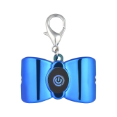 LED Chien Chat Pet Collier Lumière Pendentif Clip-sur Os-forme Chien Clignotant Sécurité Nuit Marcher Lumières Porte-clés