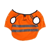 Dog Safety Vest Bright Color Reflective Strips Highly Visible Walking Training Sporting Outdoor Activity Clothing Protects Dogs from Cars Hunting Accidents