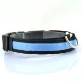 Nylon Pet LED collier chien et chat nuit sécurité marche glow colliers animaux lumineux fluorescent collier