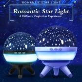 Romantic Starry Sky Projector Light Bedroom Baby Sleeping Night Light Dreamlike Universe Rotation Night Projection Lamp