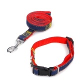 2pcs/Set Dog Collar & Leash for Small/Medium/Large Dogs