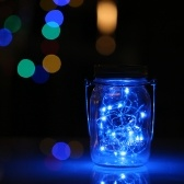 LED Mason Jar Fairy Light Insert Garden Decor Lamps