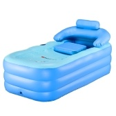 Multifunctional Practical Blow Up Adult Children Thicken PVC Folding Bathtub