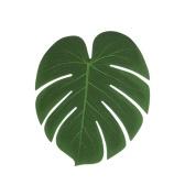 5шт Симуляционный завод Шелковая ткань Поддельный орнамент для цветочных композиций из листьев пальмы