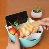Multifunction Small Double Layer Fruit Dish
