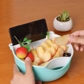 Многофункциональное маленькое двухслойное фруктовое блюдо