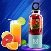 500ml Elektrische Entsafter Cup Mini Juice Maker Fruit Mixer Squeezer
