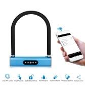 BT Smart Keyless U-Type Lock APP / пароль клавиатуры Велосипеды Мотоциклы Lock