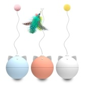 Cat Toys Interactive Ball Automatic Cat Toy Automatic Rolling Ball for Cats with Colorful Light
