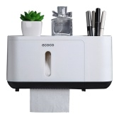 Ecoco Paper Towel Dispenser Wall Mounted Paper Towel Holder Dispenser
