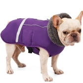 Dog Vest Cold Weather Dog Coats for Winter Warm Fleece Dog Clothes for Small Medium Large Dogs