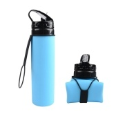 600mL Collapsible Water Bottle Foldable Water Bottle