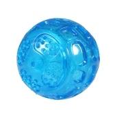 Langlebiger Quietschball Hundespielzeugbälle Lustiges Hundespielzeug für Hunde Welpen Zahnen Kauen