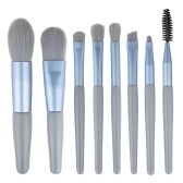 Make-up Pinsel 8Pcs Make-up Pinsel Set Foundation Brush Mischpinsel Lidschattenpinsel Augenpinsel Set