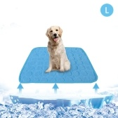 Summer Cooling Mat for Pet Breathable Pet Pad Portable Washable Pet Cooling Blanket for Small Medium Large Pet