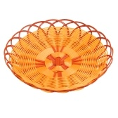 24CM Round Woven Bread Basket Reusable Food Storage Basket Container