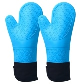 1 Pair Silicone Oven Mitts