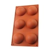 6 Holes Silicone Mold