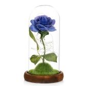 Flor Artificial Rosa com Luzes LED