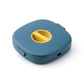 Organizador de cables sin enredos con soportes para teléfono Fundas de almacenamiento para administración de cables multifunción Organizador enrollador de cables retráctil para cable de datos USB Cables de alimentación Cable para auriculares