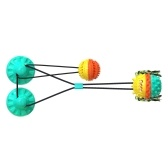 Dog Toys for Aggressive Chewers Large Breed Interactive Dog Toys