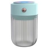 Humidificador de niebla para coche de 250 ml con luz nocturna de 7 colores