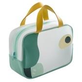 Travel Makeup Bag Waterproof Clear Makeup Cosmetic Toiletry Organizer Bag Portable Travel Cosmetic Bag for Women Men