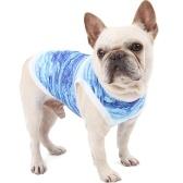 犬ペット通気性シャツ犬の冷却ベスト