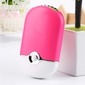 Portable Mini Handheld Air Conditioning Humidification Cooling Fan USB Cooler Pink