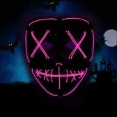 Взрослые Хэллоуин светодиодные осветительные маски