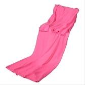 Одеяло из мягкого флиса с облегающими рукавами (180 см * 135 см)