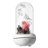 Preserved Rose Lamp Aromatherapy Machine Aroma Essential Oil Diffuser with 7 Colors Changing Light